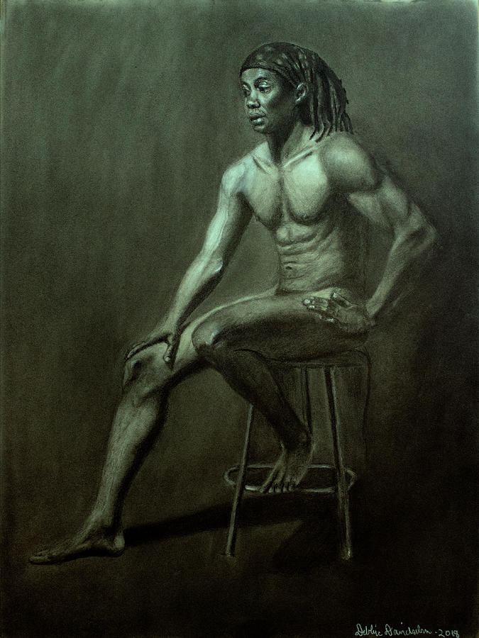 Male Model #1 - Figure Drawing