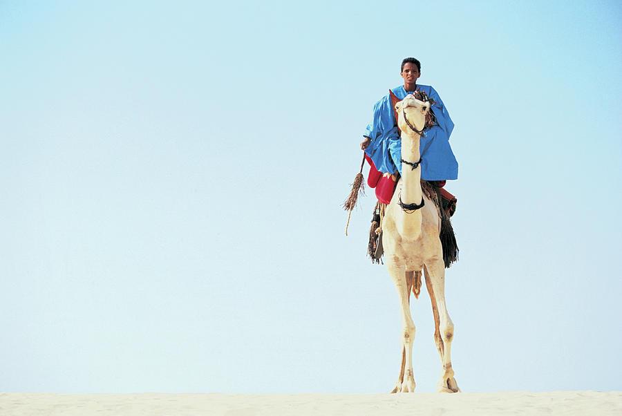 Mali, Sahara Desert, Touareg, Teenage Photograph by Peter Adams
