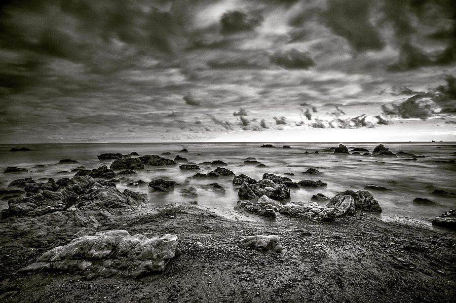 Beach Photograph - Malibu Clouds by John Rodrigues