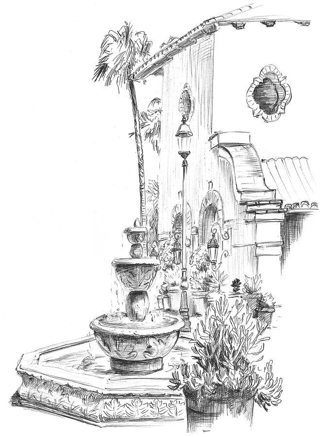 Malibu Fountain by Masha Batkova