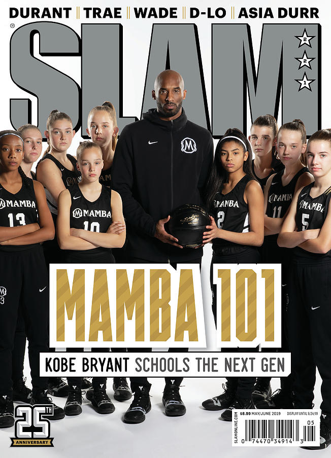 Mamba 101: Kobe Bryant Schools the Next Gen SLAM Cover Photograph by Atiba Jefferson