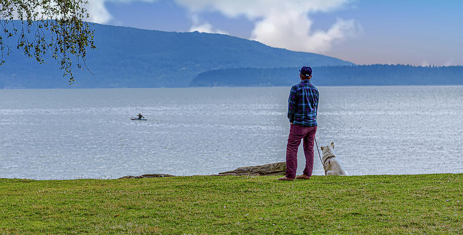 Man and His Dog by Darryl Brooks
