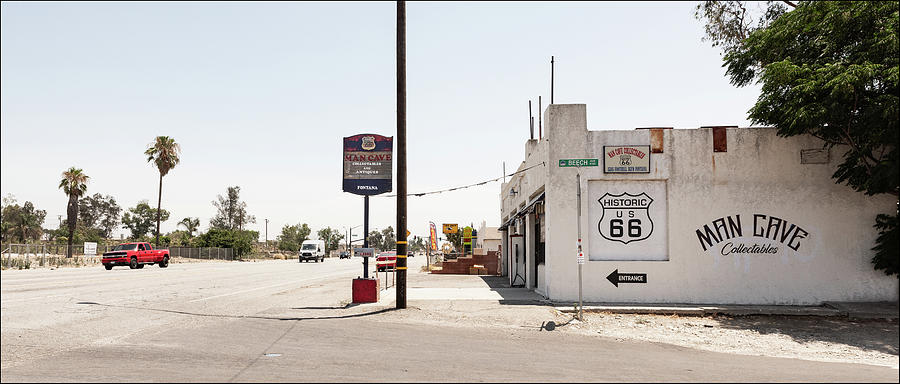Man Cave, Route 66, Fontana, CA by Andy Romanoff