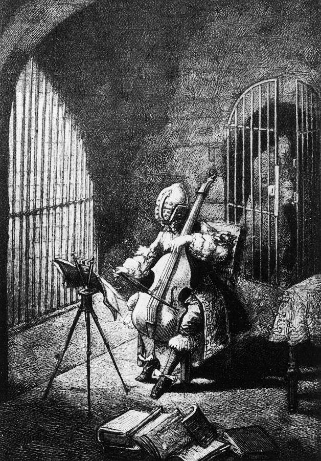 Man In The Iron Mask Photograph by Hulton Archive