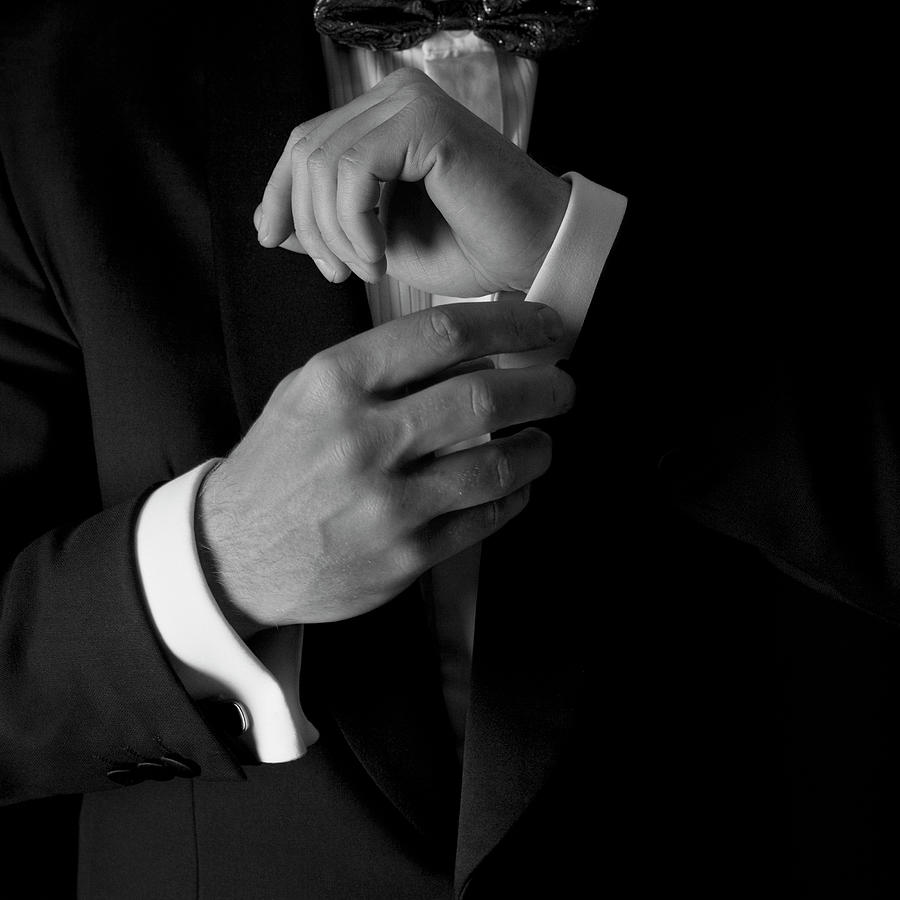 Man In Tuxedo Photograph by Harrastaja