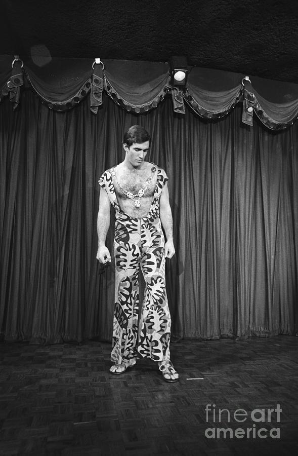 Man Modeling New Fashion Photograph by Bettmann