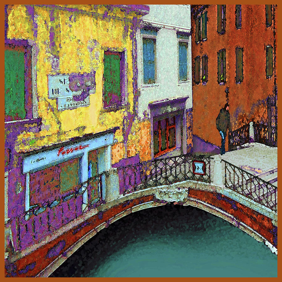 Man on a Bridge by Guy Ciarcia