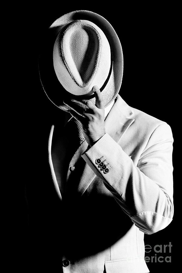 Man With Hat Over Face Photograph by Stefano Bertelli / Eyeem