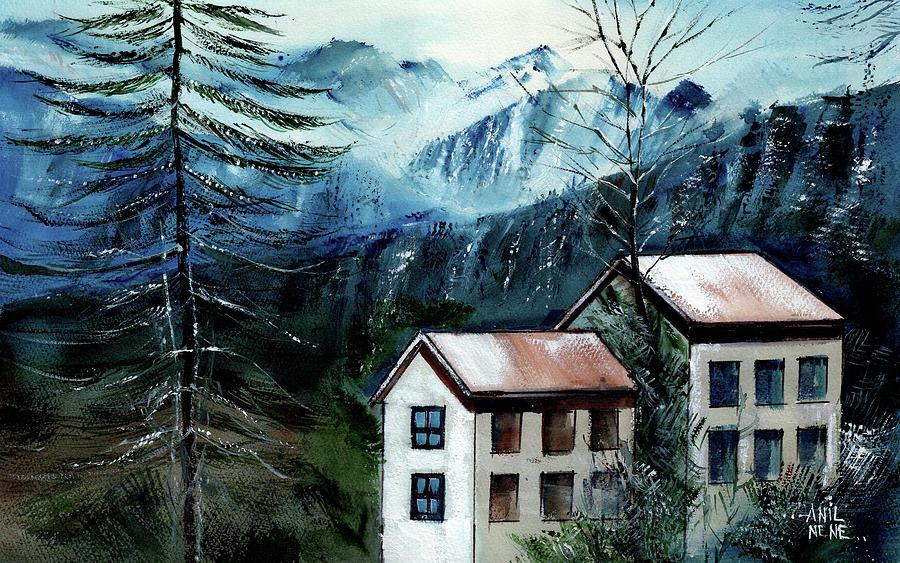 Manali 1 Himalaya by Anil Nene