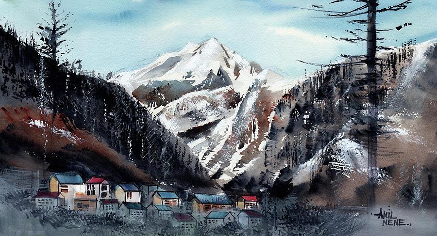 Manali 5 Himalaya by Anil Nene