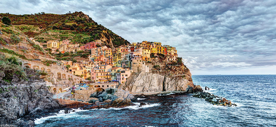 Manarola Sunset by Weston Westmoreland