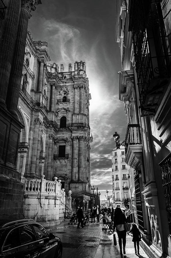 Cathedral Photograph - Manca Y Negro by Borja Robles