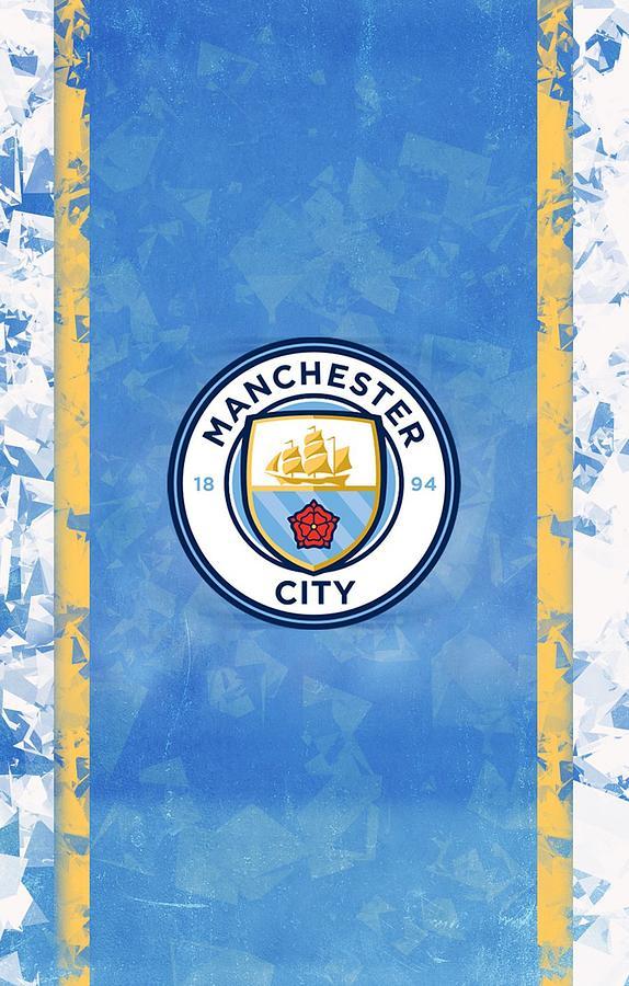 Manchester City Wallpaper Digital Art By Suparto Johan