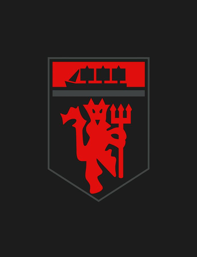 Manchester United Art Digital Art By Mamat Rahmat