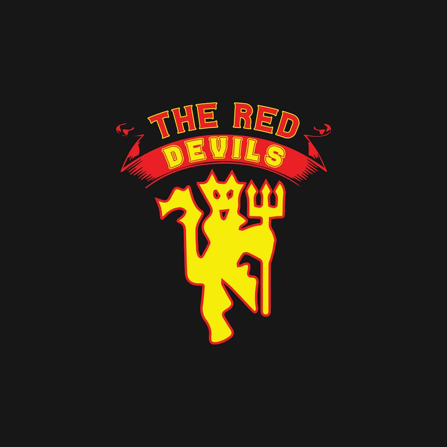 Manchester United Red Devil Digital Art By Mamat Rahmat