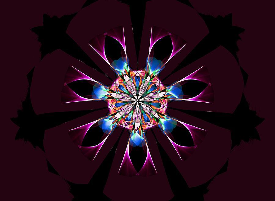 Mandala 032619  by David Lane