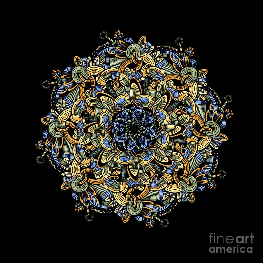 Mandala 0807 by HD Connelly