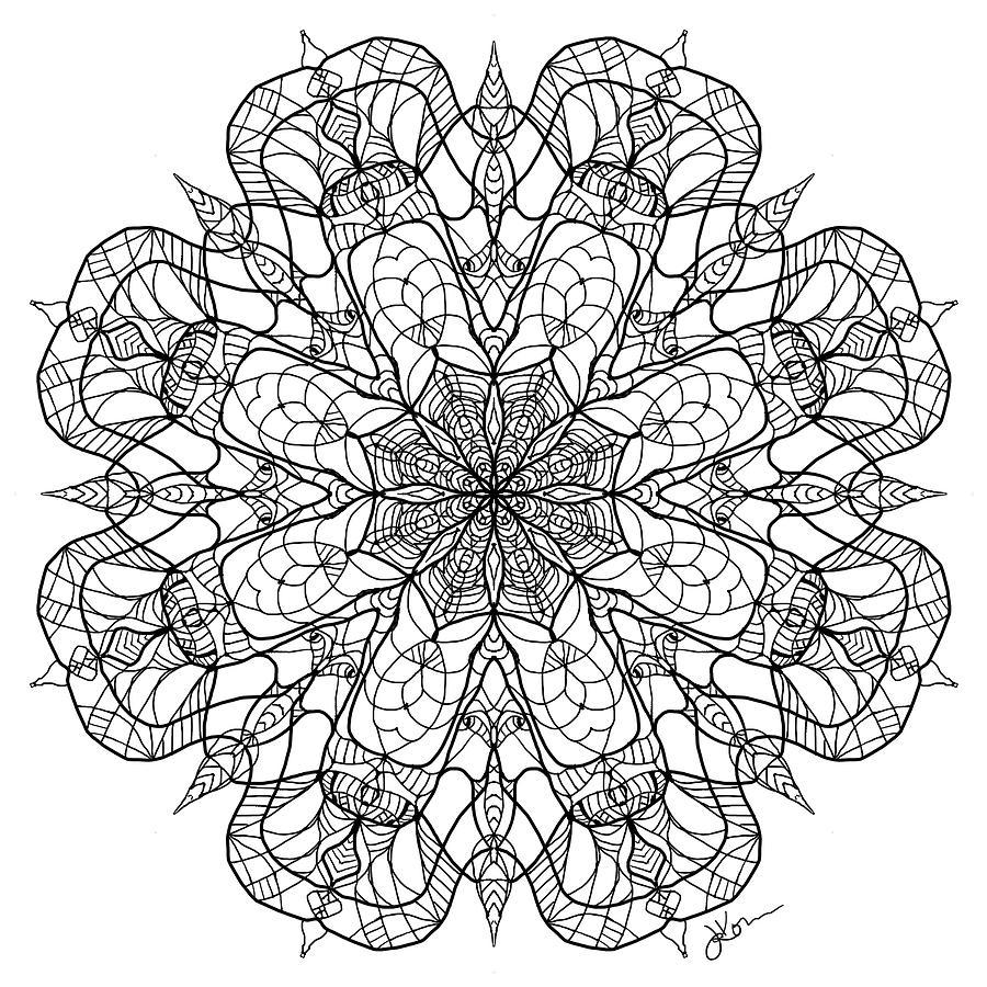 Mandala 15 by Jennifer Kohr
