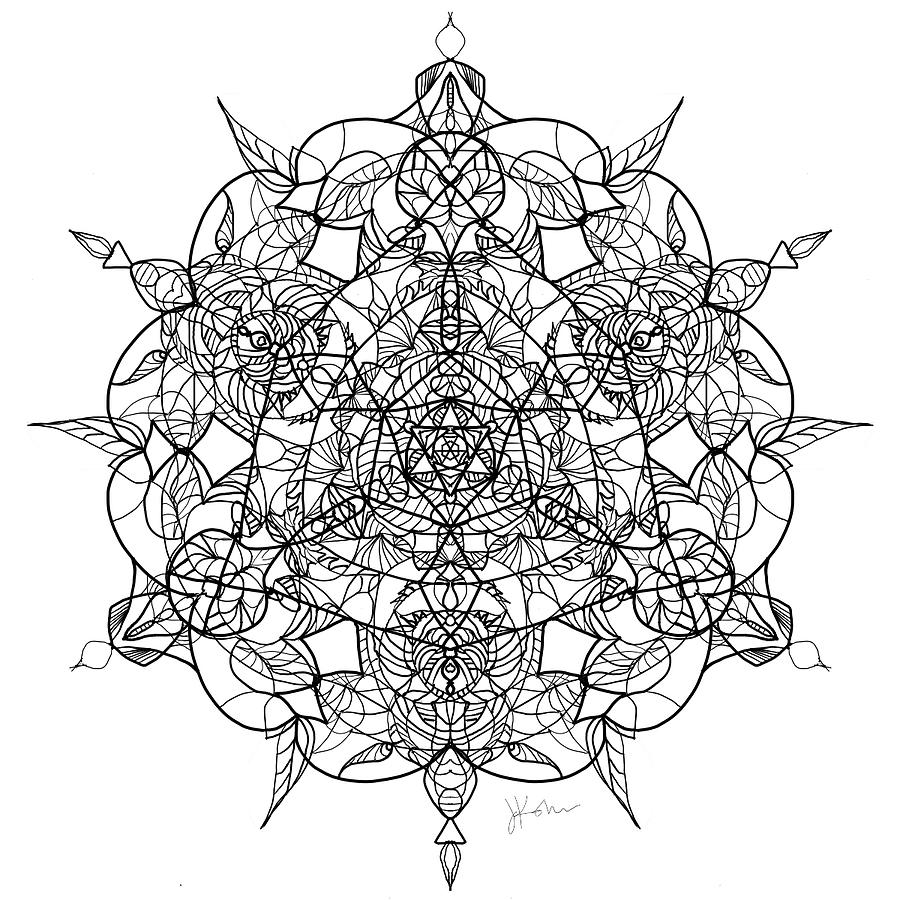 Mandala 16 by Jennifer Kohr