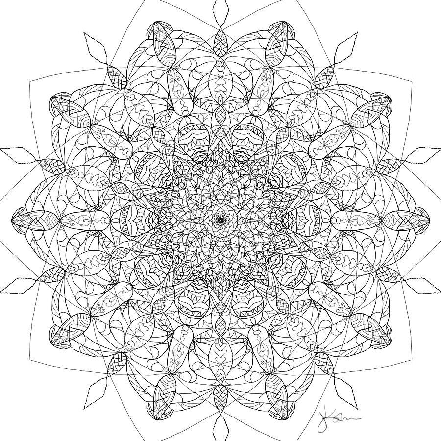 Mandala 17 by Jennifer Kohr