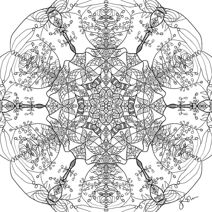 Mandala 18 by Jennifer Kohr