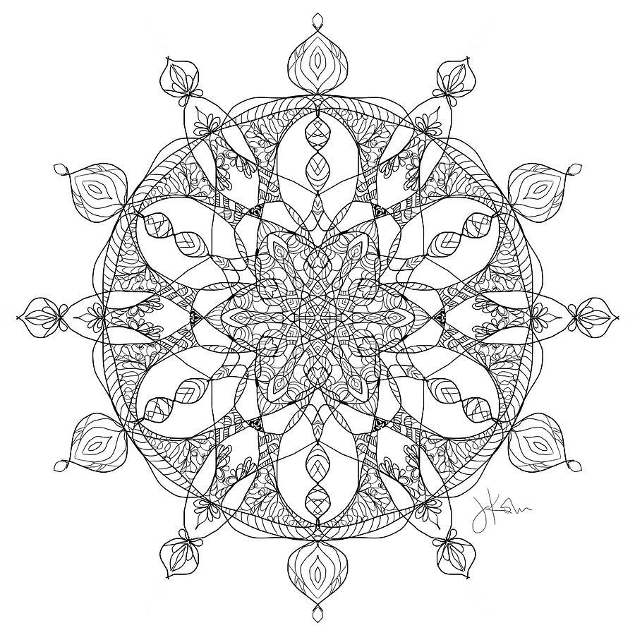 Mandala 19 by Jennifer Kohr
