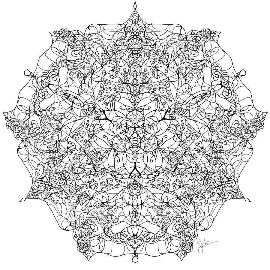 Mandala 20 by Jennifer Kohr