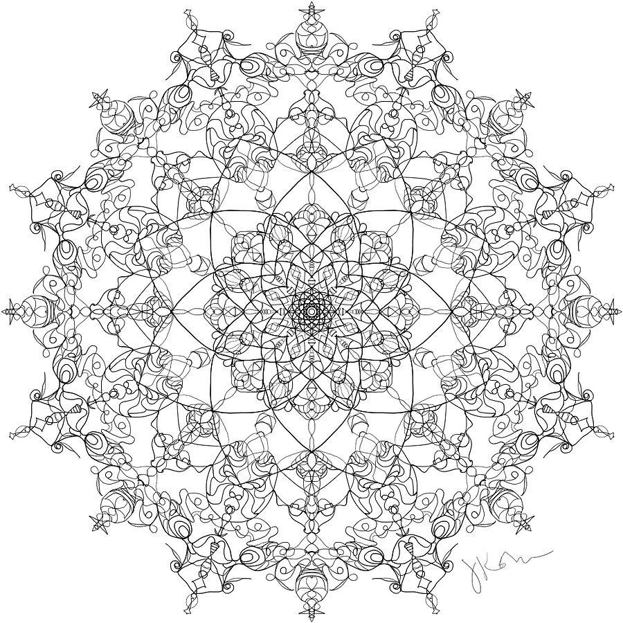 Mandala 21 by Jennifer Kohr