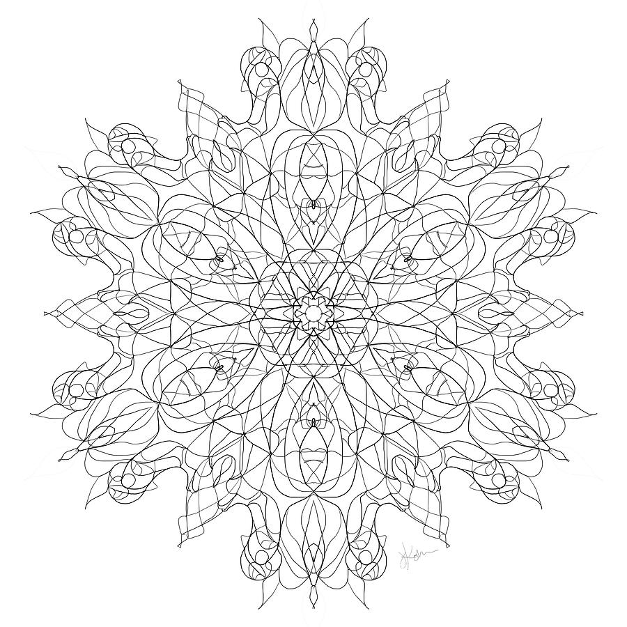 Mandala 22 by Jennifer Kohr