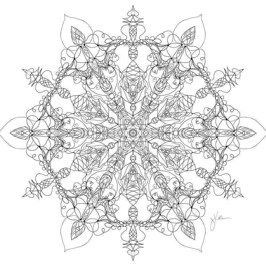 Mandala 23 by Jennifer Kohr