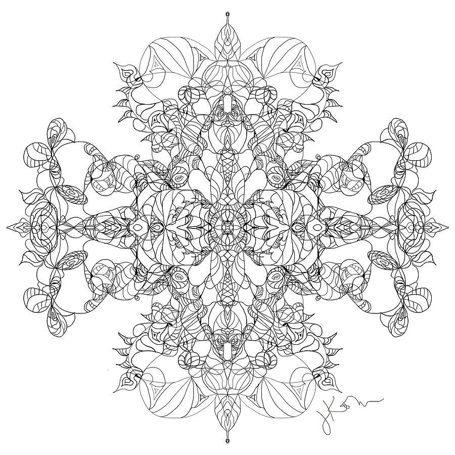 Mandala 24 by Jennifer Kohr