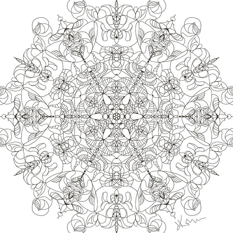 Mandala 25 by Jennifer Kohr