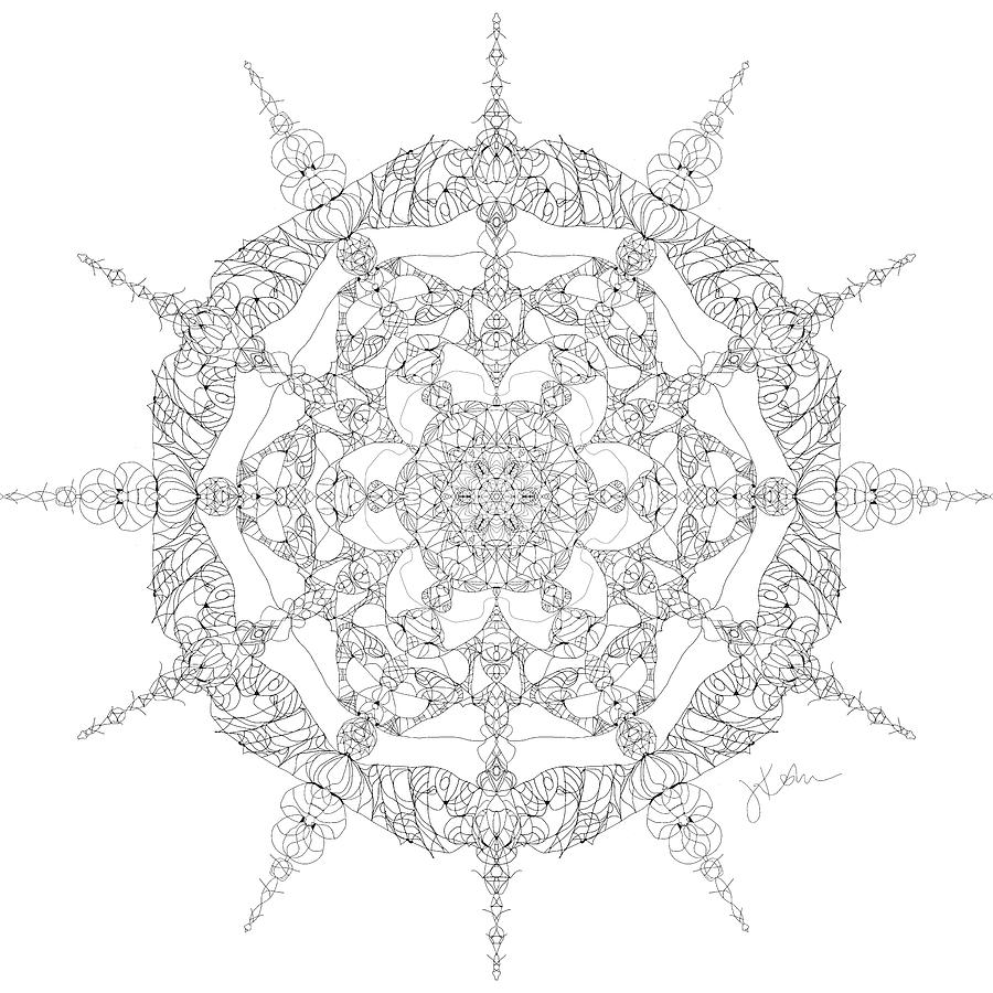 Mandala 26 by Jennifer Kohr