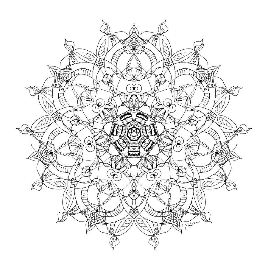 Mandala 27 by Jennifer Kohr