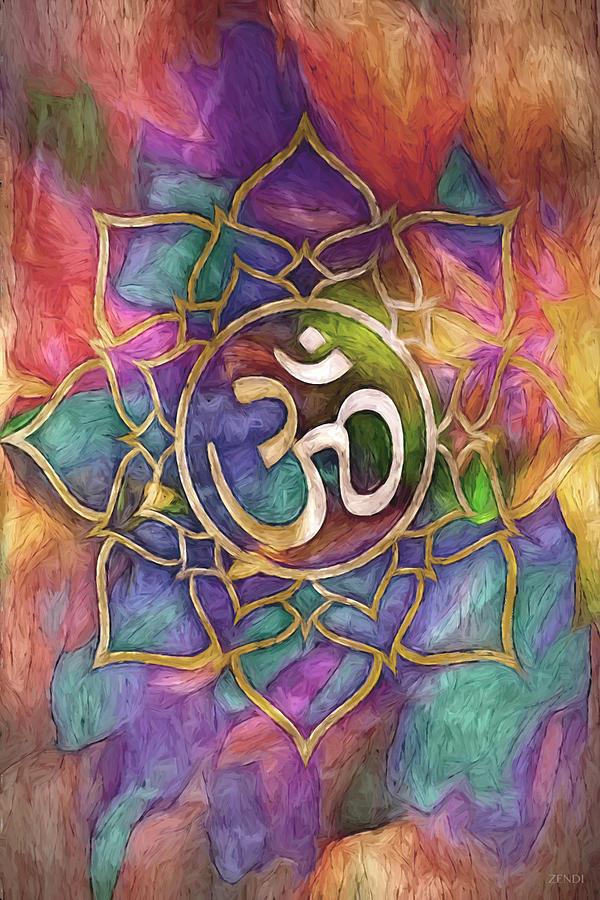 Mandala Aura by Cindy Greenstein