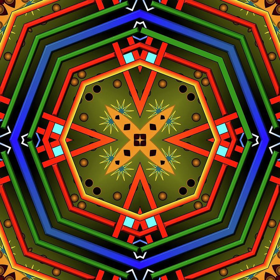 Mandala Glory by Mario Carini
