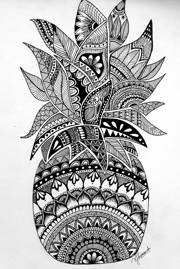 Mandala Drawing By Himanshi Jindal