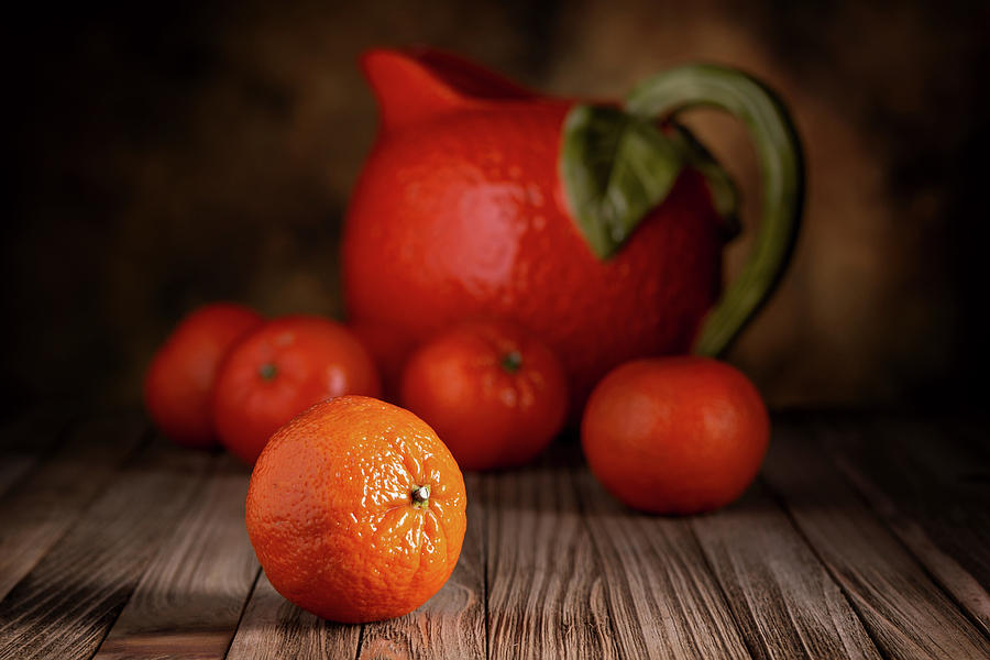 Mandarin Oranges - Cuties by Tom Mc Nemar