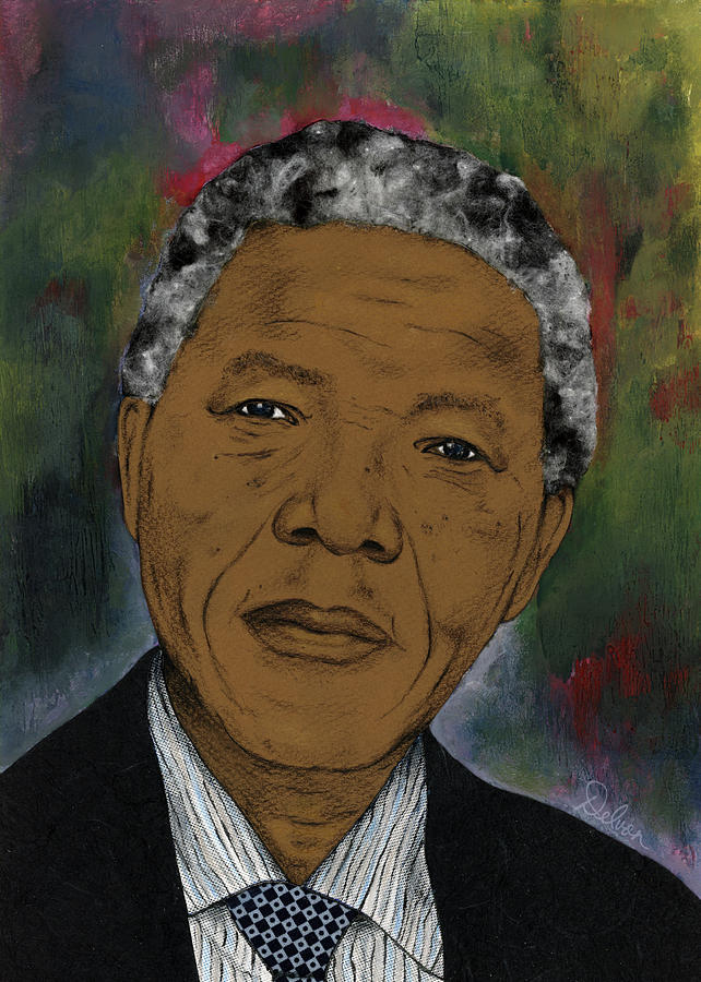 Mandela  by Delvon