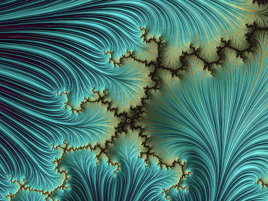 Mandelbrot Canyon Digital Art