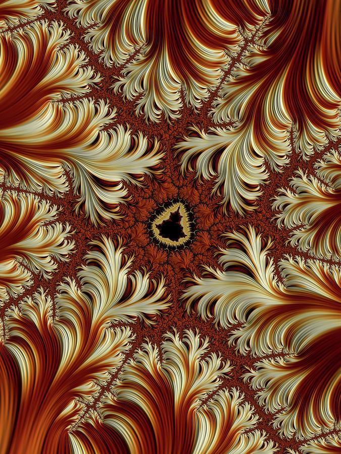 Mandelbrot Creme Brulee Digital Art