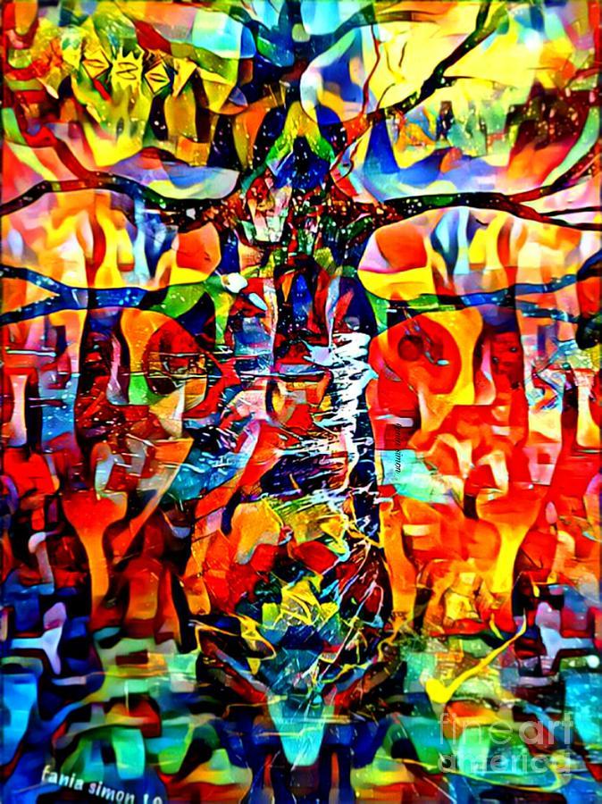 Maneuvering Baobab by Fania Simon