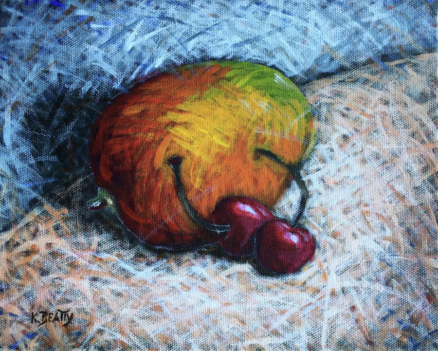 Mango and Cherries by Karla Beatty