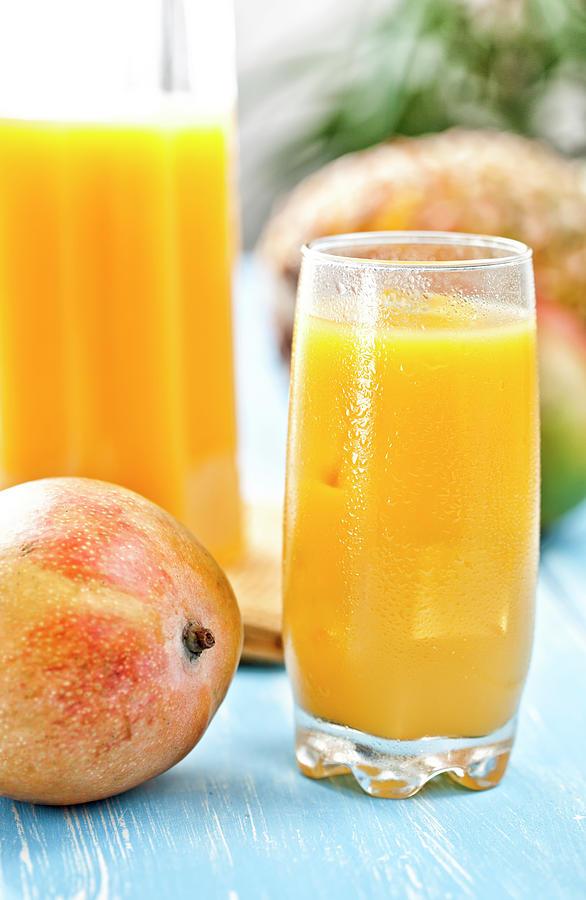 Mango Juice Photograph by Gmvozd
