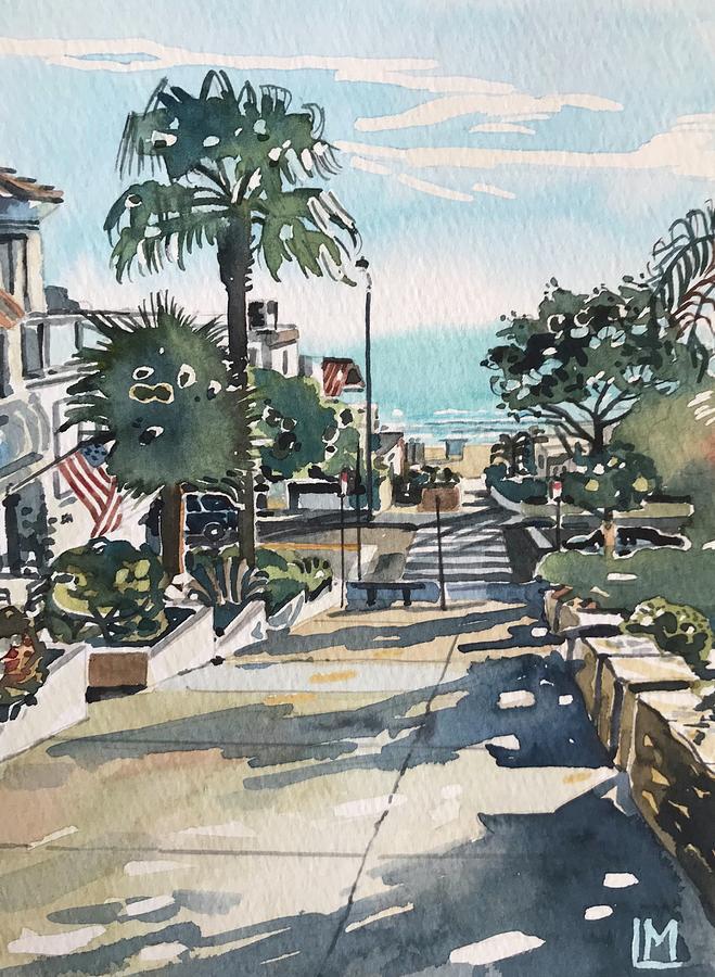 Manhattan Beach #1 Painting
