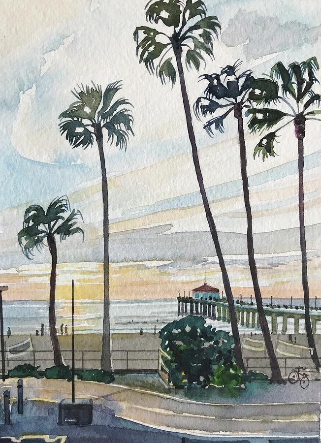 Manhattan Beach #2 Painting