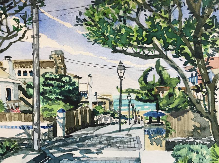 Manhattan Beach Painting - Manhattan Beach #20 by Luisa Millicent