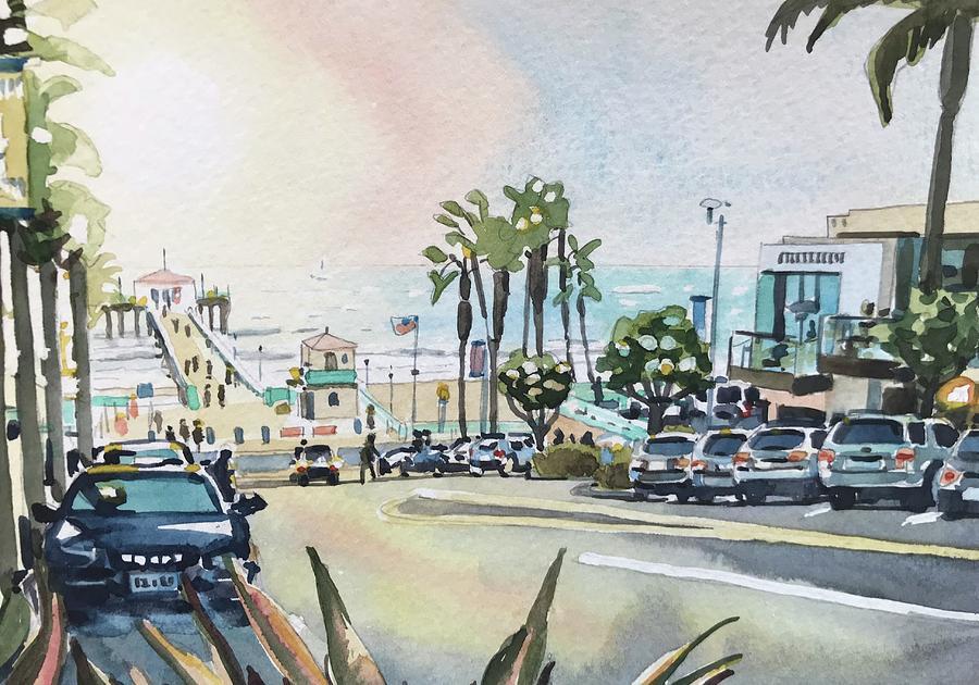Manhattan Beach #44 Painting