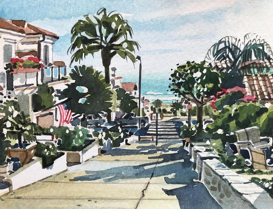 Manhattan Beach Painting - Manhattan Beach #53 by Luisa Millicent