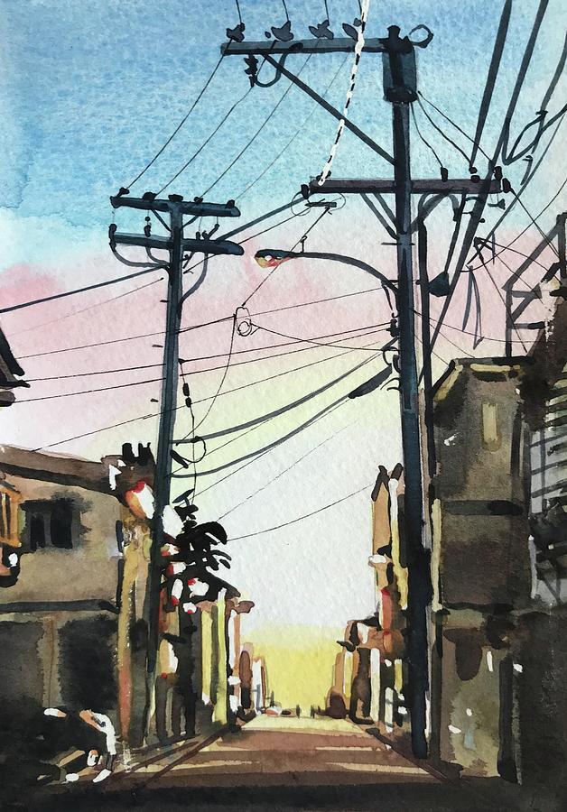 Manhattan Beach #57 Painting